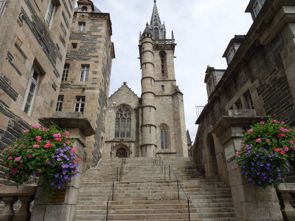 A church in the Town of Morlaix