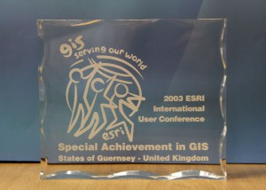 2003 ESRI Int User Conf Spec Achievement