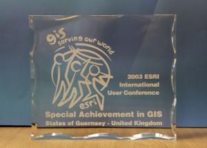 2003 ESRI Int User Conf Spec Achievement
