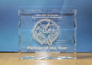 2003 ESRI Worldwide Partner of the Year