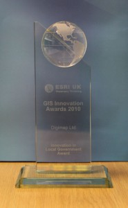 2010 ESRI UK Innovation